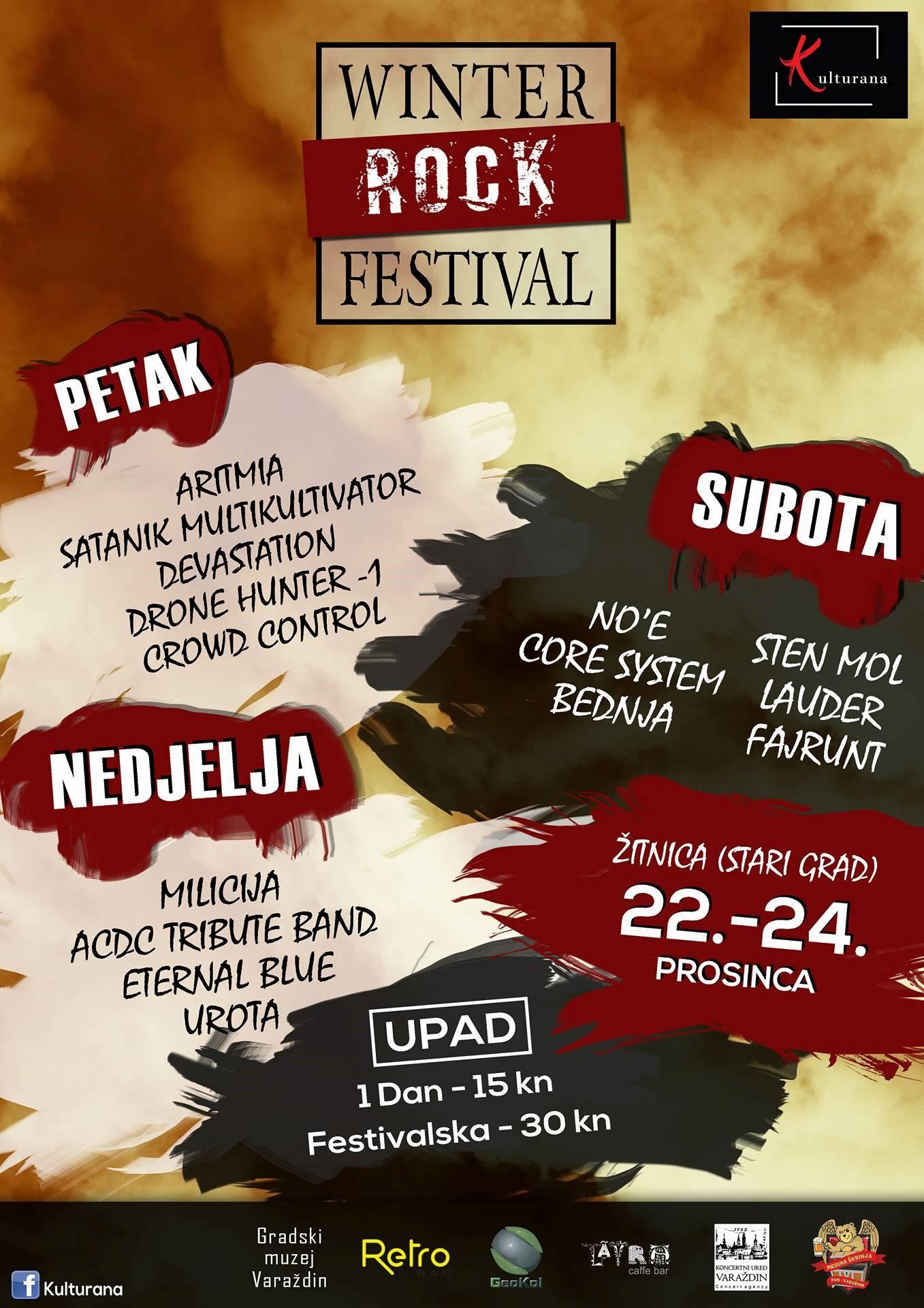 Winter rock festival