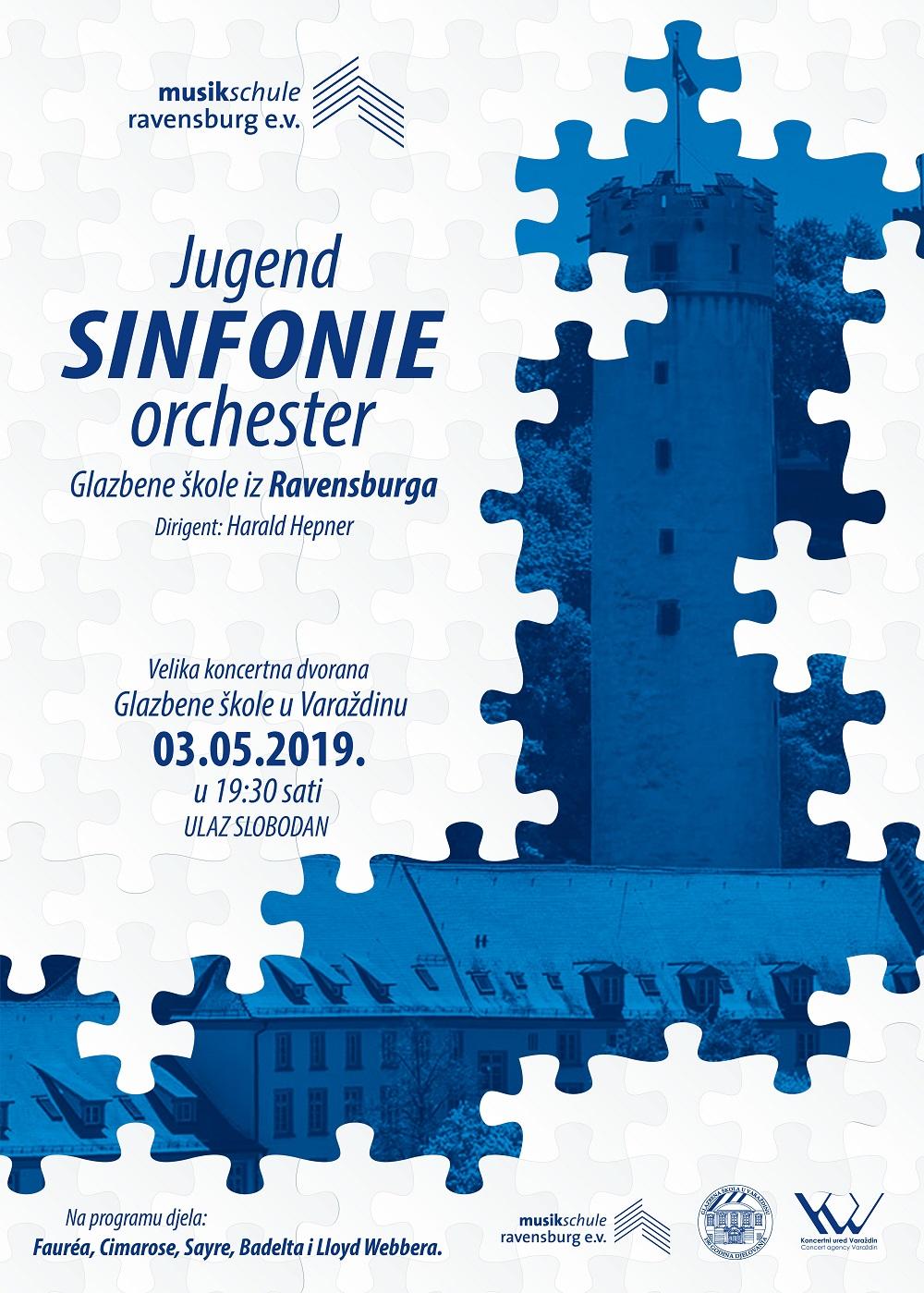 Ravensburg koncert plakat