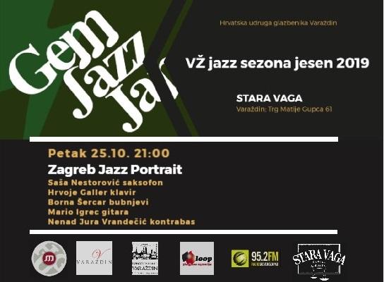 Zg jazz portrait najava 2