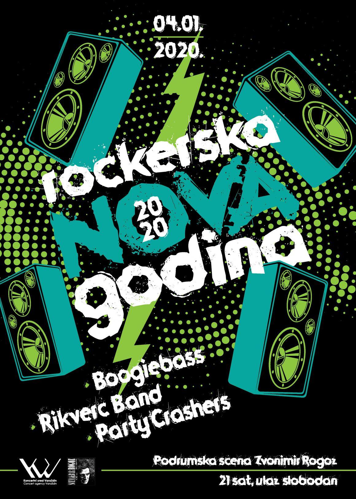 Rockerska Nova godina 04. siječnja u Rogozu