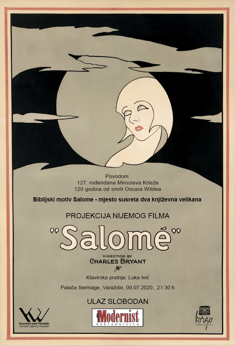 Jedinstvena projekcija nijemog filma Salome