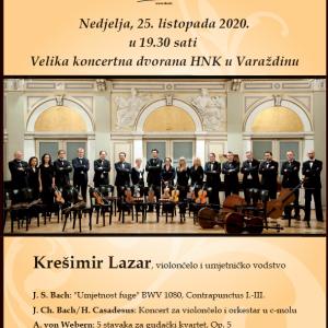 Otvorenje 27. koncertne sezone Varaždinskog komornog orkestra!