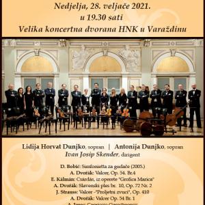 2. koncert 27. sezone Varaždinskog komornog orkestra