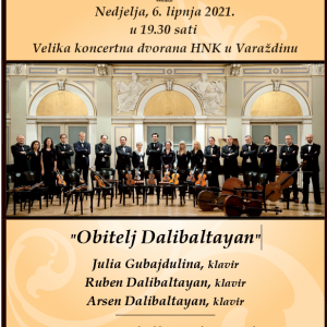 """Obitelj Dalibaltayan"" i Varaždinski komorni orkestar"