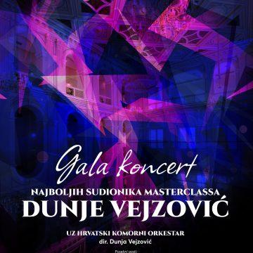 Gala koncert najboljih sudionika master classa Dunje Vejzović